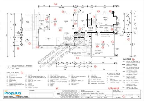 MyPropHub Drawing Standards Floor Plan